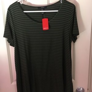 Forever 21 striped tee